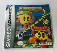 NEW 2 Games in 1 Mrs Ms Pac Man Maze Madness &  Pac-Man World Game boy Advance