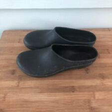 MEN'S SLOGGERS RAIN GARDEN SHOES Clogs Mules Size 9 Slip-On Black