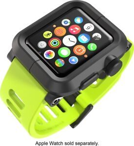 LUNATIK - EPIK Polycarbonate Case and Silicone Band for Apple Watch 42mm - Green