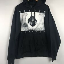 """Seahaven """"Winter Forever"""" Pullover Hoodie Sweatshirt Size Large"""