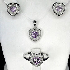 Amethyst Natural Fine Jewellery Sets