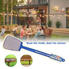 2020 Truth Over Flies Fly Swatter Vinyl Sticker Kamala Harris Pence Debate Biden
