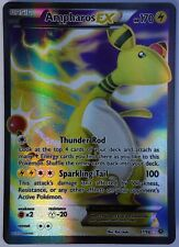 POKEMON, ANCIENT ORIGINS, Ampharos EX 87/98, NEW, MINT, Ultra rare, Full Art