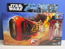 Nuevo la fuerza despierta rey's Speeder Inc Figura De Acción De Star Wars Jakku HASBRO Y74