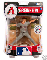 Zack Greinke Arizona Diamondbacks 6' Action Figure Imports Dragon MLB 2016 - NEW