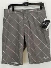 NWT $75 Oakley Men's Scotts Short Golf Apparel Gray w. Print Sz. 30 Style 441724