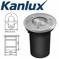Kanlux GU10 Mains Ground Recessed Walkover Outdoor Driveway Light Fitting IP67