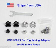 Blade 350 QX CNC Aluminum Propeller Self-Tightening Adapter for DJI Phantom Prop