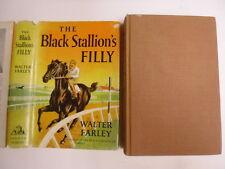 Black Stallion's Filly, Walter Farley, DJ, 4th Print, Nice