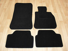 BMW 1 Series F20/F21 (2011-On) Fully Tailored Premium Car Mats in Black