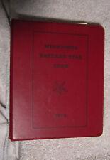 Minnesota Eastern Star Code 1973 Masons By-Laws Regs