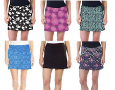 NWOT Tranquility by Colorado Clothing Skort Skirt Black Size Variations