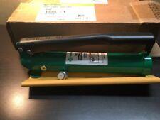 NIB Greenlee 767 Hydraulic Hand Pump Driver 7306 7310 #6111A/B