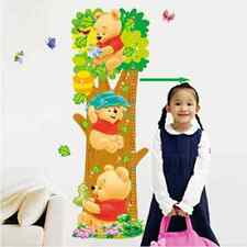 Winnie the Pooh Growth Chart Wall Sticker | Children Height Chart Measurement