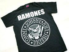 Vintage Ramones Presidential Seal Logo T-Shirt (S)Small Punk Rock Band Tee 2008