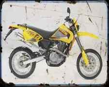 Ccm 644 Supermotard A4 Metal Sign Motorbike Vintage Aged