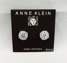 ANNE KLEIN Crystal Stud Earring  Msrp $20.00  *NEW WITH TAG *