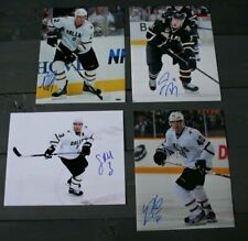 Lot of 4 Autographed Dallas Stars 8x10 Photos  Grossman Roy Robidas Garbutt  COA