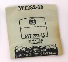 NOS G-S Crystal MT282-15 for BELOVE* 21.6 x 18.8 mm