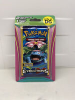 🌟DG Exclusive Pokemon XY EVOLUTIONS Blister Pack 2 Mini Booster