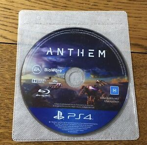 Anthem - For PS4 - New But Disc Only No Case - Free Postage