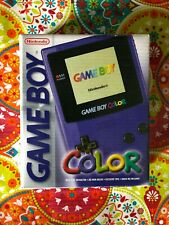 Nintendo Game Boy color Púrpura