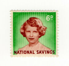 (I.B) National Savings : Princess Anne 6d (1960)