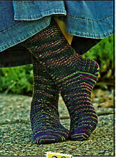 SALE - SAVE 30%  WILD CLOVER SOCKS to KNIT by KRISTIN HANSEN for FIESTA YARNS