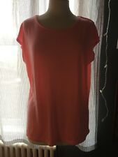 H&M SPORT FLATTERING NEON PINK GYM YOGA PILATES WORKOUT TOP EXTRA SMALL