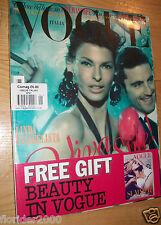 VOGUE Italia 2012 ~Sealed MINT~ magazine issue LINDA EVANGELISTA BRUCE WEBER