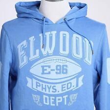 **NEW**ELWOOD**Blue hooded jumper - sz S mens RRP$99.99