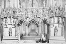 ARCHITECTURE PRINT : France Cathedral of Troyes Jube Choir Screen