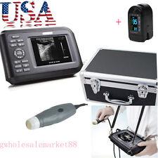 FDA Veterinary VET Laptop Ultrasound Scanner Machine Animal 3.5MHZ Probe Clinic