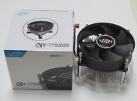 XY-775208 CPU COOLER FAN & HEATSINK 65W for INTEL LGA 775 CORE 2 DUO CELERON D