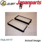 Filter,interior air for HYUNDAI TERRACAN,HP,D4BH,G6CU,J3 JAPANPARTS FAA-HY17