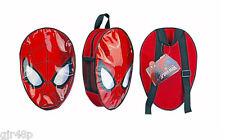 Marvel Ultimate Spiderman Kopf-junior Rucksack Kinder Mittagessen Schultasche