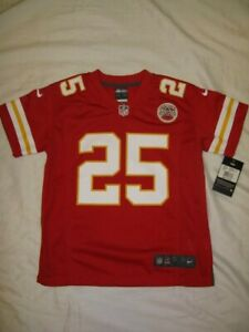 Jamaal Charles Kansas City Chiefs Youth Small Red Nike Game Jersey