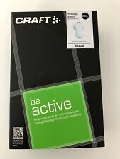 Men's Craft Be Active Short Sleeve White Base Layer XXL RRP £30
