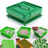 6PCS 100 Holes Food Grade 00# Pill Capsule Filler Filling Machine Flate Tool Set