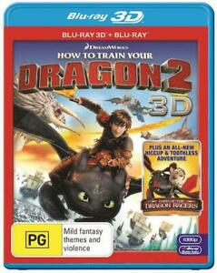 How To Train Your Dragon 2 : Blu-Ray 3D + 2D : NEW