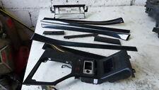 BMW 5er E39 Interieurleisten Innenleisten Dekorleisten Leisten schwarz 10 Teile