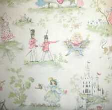 ~ COVINGTON OVER MOON  WHITE BABY FAIRY TALE DECORATOR  TOILE FABRIC 10 Y ~