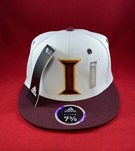 Iona Gaels College Adidas Climalite Hat Cap Fitted 7 3/8 New White