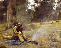 Fredrick McCubbin Down On His Luck  Best Canvas Prints - Framed & Ready to Hang