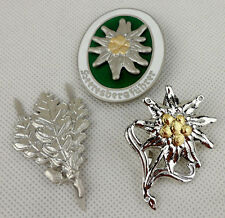 WWII German Mountain Division Edelweiss Badge Pin Insignia Sniper Badge-D713