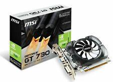 MSI GeForce GT 730 Fermi DDR3 128-bit 2GB DirectX 12 (N730 2GD3V3) New