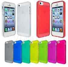 Cover Custodia Per iPhone 4S Tpu Silicone Flessibile Gel Trasparente + Pellicola