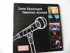 DAVE FANNING`S FESTIVAL SOUNDS PROMO CD DAVID GRAY SNOW PETROL THE FRAMES REVS