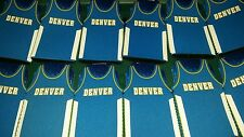 Lot of 12 Denver Nuggets NBA jersey bottle Koozies FREE SHIPPING