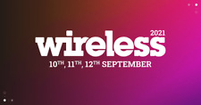 SUNDAY WIRELESS TICKET 12TH SEPT 2021 NEXT DAY DELIVERY